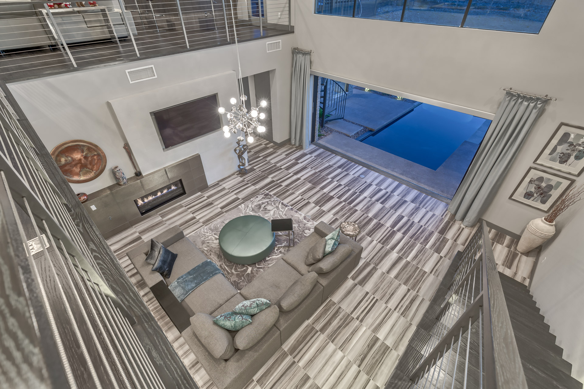 Blue heron Luxury Home in Henderson NV Interior