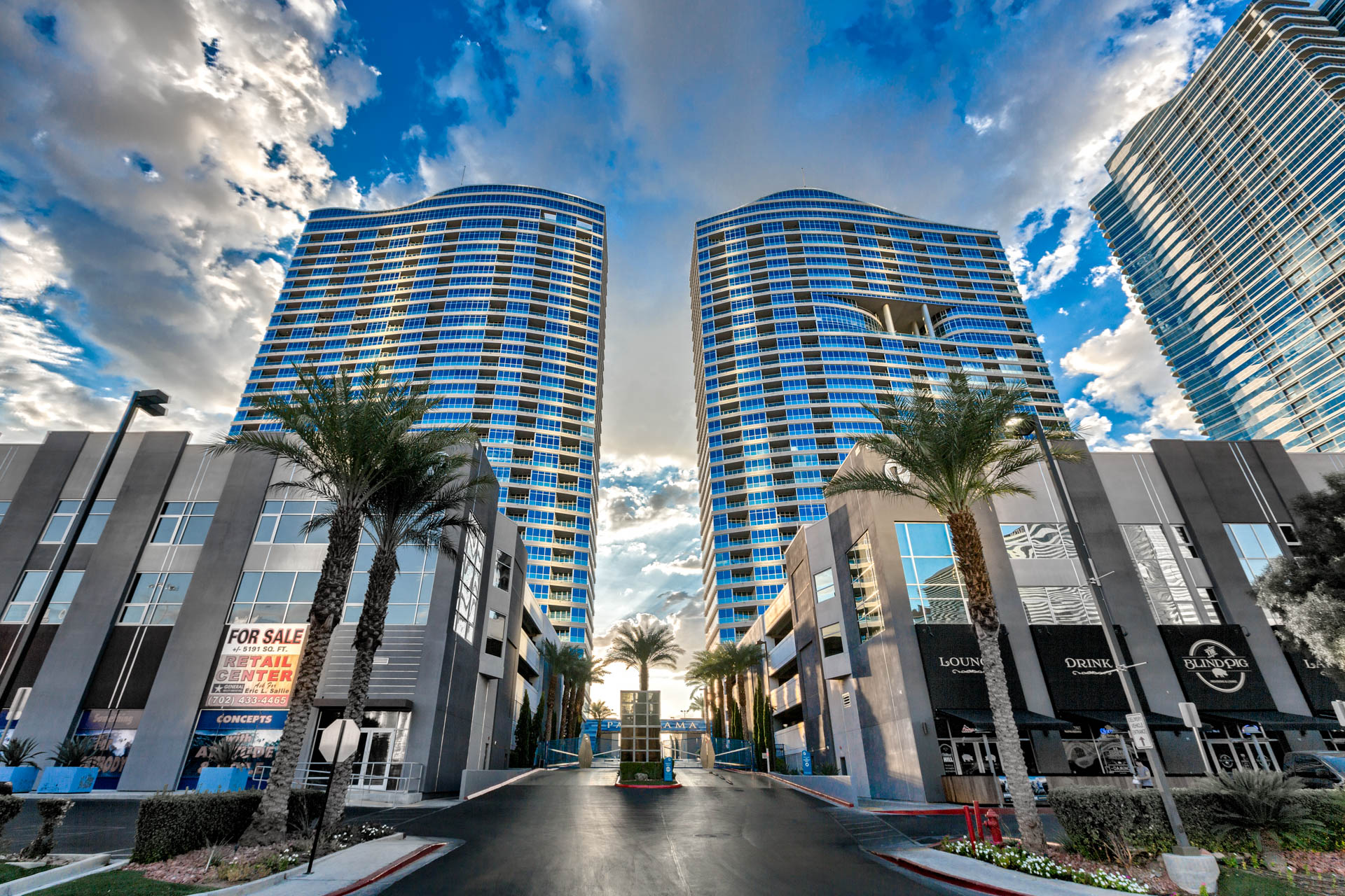 Panorama-Towers-Condos-For-Sale-Guard-Gated-Entry-4575-Dean-Martin-Drive